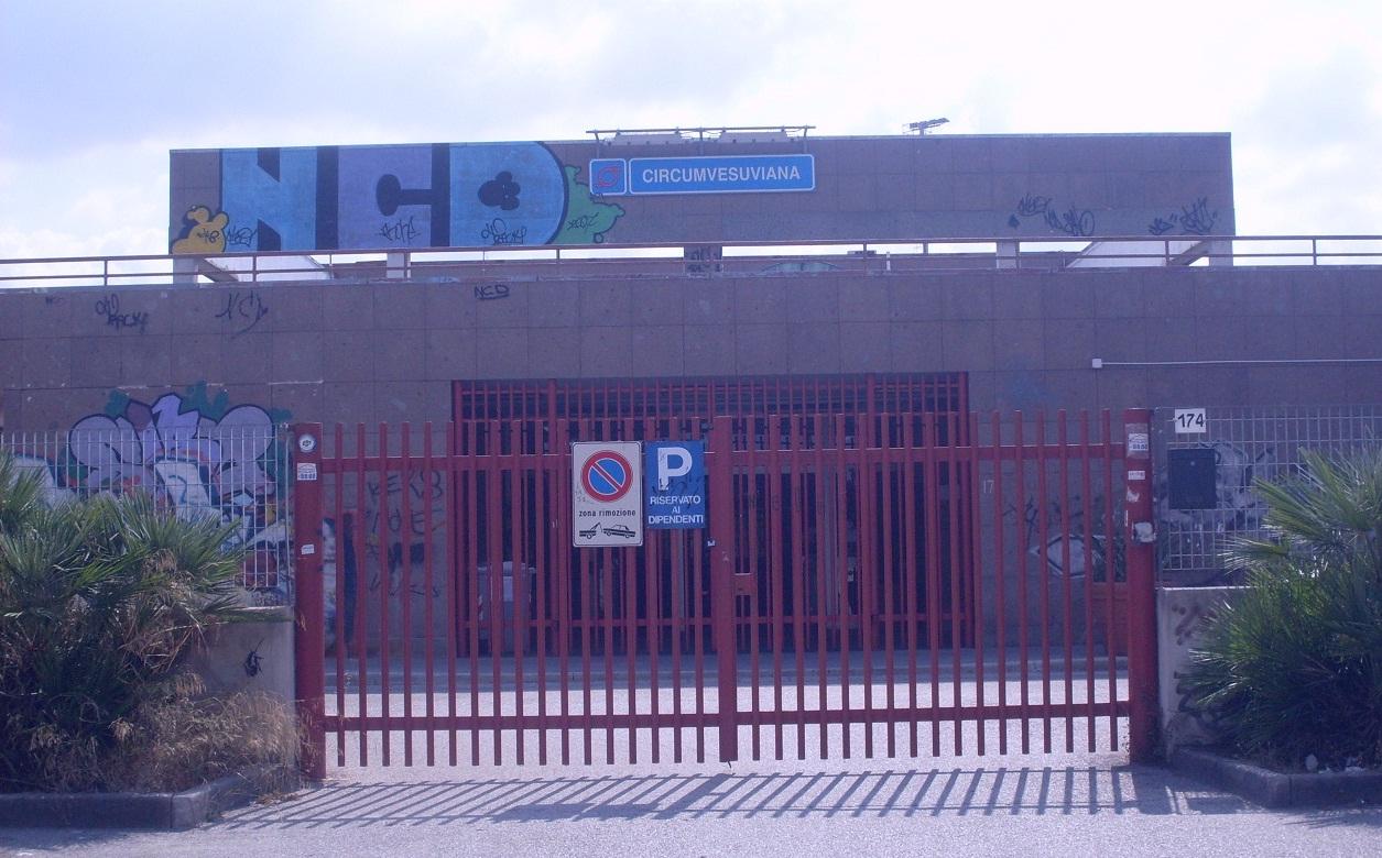 Circumvesuviana chiuse tutte le stazioni di ponticelli fino al 2